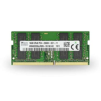 Image of Adamanta 16GB (1x16GB) HP Certified Hynix Laptop Memory Upgrade Compatible for HP Omen 15 DDR4 2666Mhz PC4-21300 SODIMM 2Rx8 CL19 1.2v RAM DRAM Memory