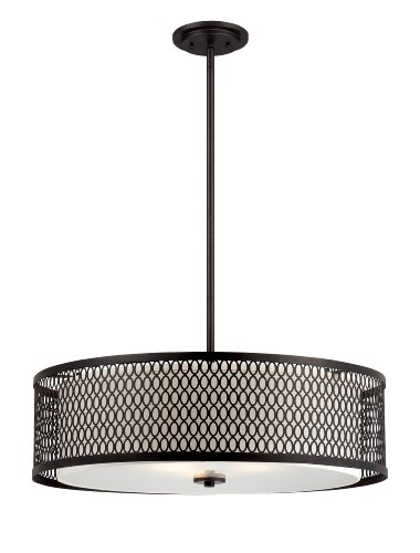 Designers Fountain 6202-ART Continental Hanging Pendants, Artisan -