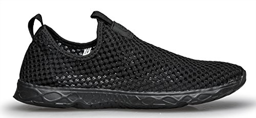 Dlgjpa Mujeres Light Secado Rápido Aqua Water Shoes Black.