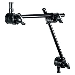 Manfrotto 196AB-2 2-Section Single Articulated Arm without Camera Bracket (Black)