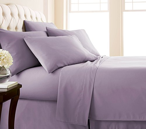 Southshore Fine Linens - 6 Piece - 21 Inch - Extra Deep Pocket Sheet Set (Full, Lavender)