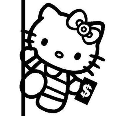 Hello Kitty Pole Dancer Stripper 4