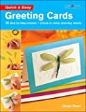 Quick and Easy Greeting Cards, Cheryl Owen, 1580112323