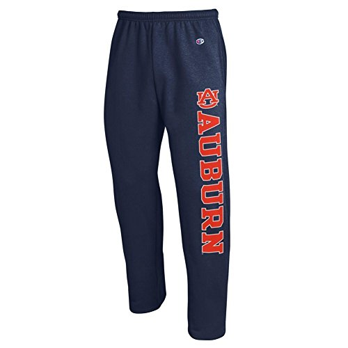 Elite Fan Shop Auburn Tigers Sweatpants Pockets Navy - ()