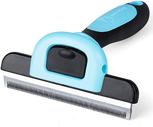 MIU COLOR Dog Deshedding Brush, Desheeding Tool for Large Dogs, Short Haired Dogs Cats Brush for Removing Loose Hair, Dog Deshedder