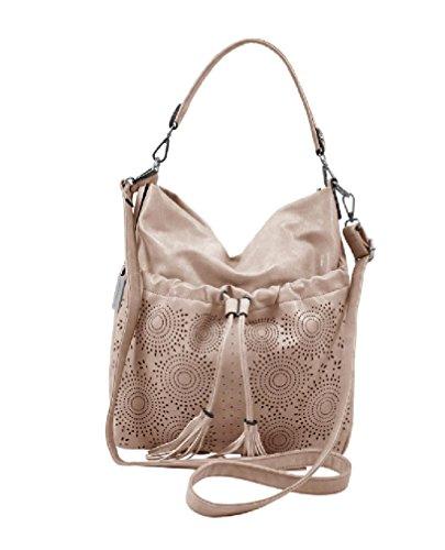 Emily & Noah Umhängetasche Damen Tasche Beuteltasche Julia rosa Citytasche