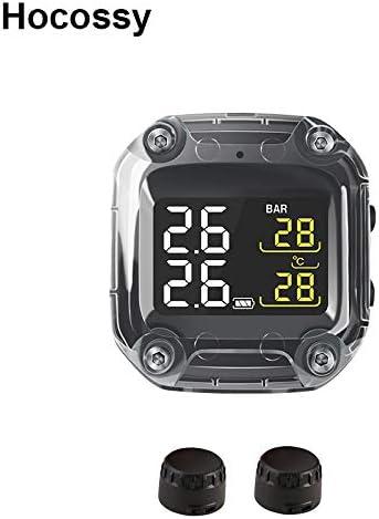 Mercu Wireless Digital Motorcycle Tire Pressure Gauge Monitoring System