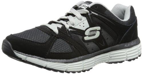 Skechers AgilityOutfield - Zapatillas de material sintético hombre Black/Gray