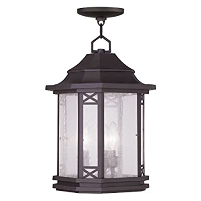 Livex Lighting 2315 Tahoe Outdoor Pendant with 3 Lights,