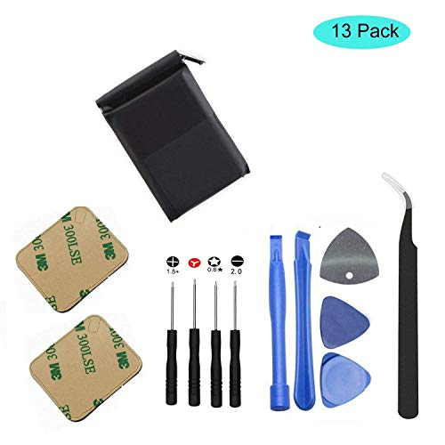 oGoDeal A1761 Battery Replacement for Apple Watch Series 2 S2 2st Gen A1758 A1817 iWatch 334mAh Battery with Repair Tool Set Kit 42 mm ()