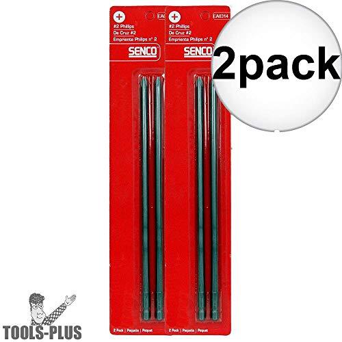 Senco EA0314#2 Phillips Head DuraSpin Drive Bits 2x 2-Pack