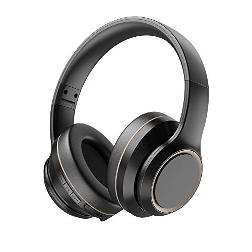 Active Noise Cancelling Headphones, Xunpuls Bluetooth 5.0 Wireless Over Ear Headset with Hi-Fi Deep Bass,Quick Charge,15…