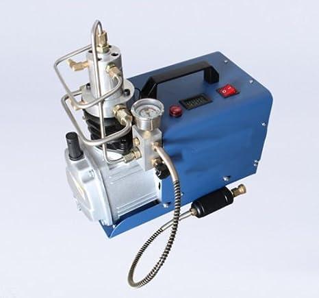 MXBAOHENG Alta presión 30 mpa Compresor eléctrico Bomba PCP Bomba de Aire eléctrica 220 V: Amazon.es: Hogar