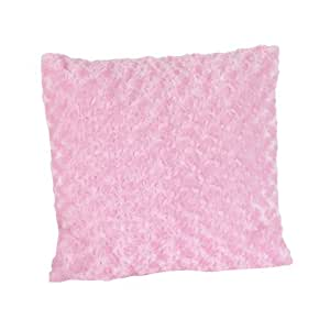 Pink Minky Olivia Decorative Accent Throw Pillow by Sweet Jojo Designs