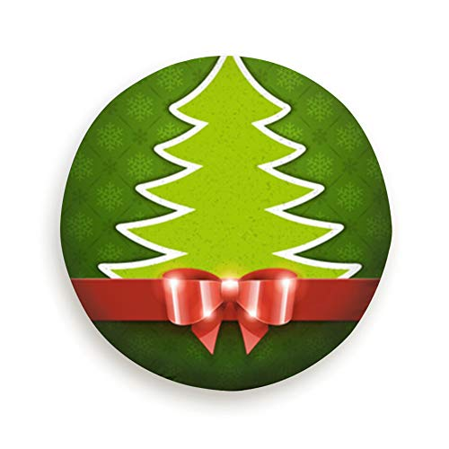 Cool pillow Tire Cover Christmas Tree Applique Bow Holidays Polyester Universal Spare Wheel Tire Cover Wheel Covers Jeep Trailer Rv SUV Truck Camper Travel Trailer Accessories (Tree Applique Sports Christmas)