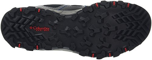 Columbia Peakfreak Xcrsn II Xcel Low Outdry, Scarpe da Arrampicata Uomo Nero (Black, Bright Red 010black, Bright Red 010)