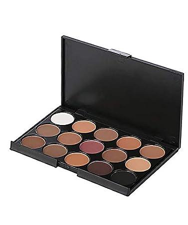 Amazon.com : Paleta De Sombras Con 15 Colores De Maquillaje ...