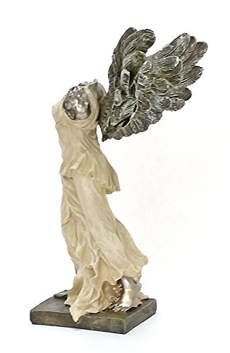 (Bellaa 21138 Nike of Samothrace Winged Victory Greek Goddess Statue 9