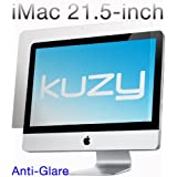 "Kuzy - Anti-Glare Matte Screen Protector Filter for 21.5 inch iMac Desktop Display 21"" Model: A1311 and A1418 - ANTI-GLARE"