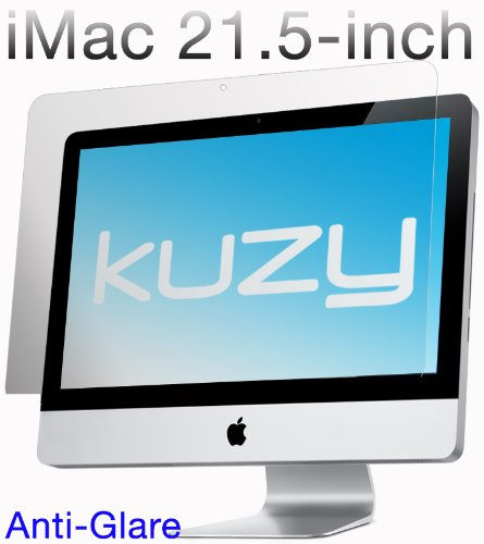 Kuzy - Anti-Glare Matte Screen Protector Filter for 21.5 inch iMac Desktop Display 21 Model: A1311 and A1418 - ANTI-GLARE