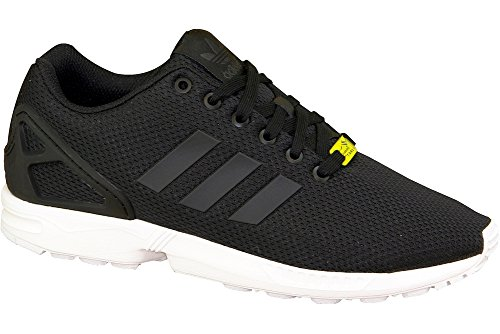 Adidas ZX Flux Black White Mens Trainers 9 US