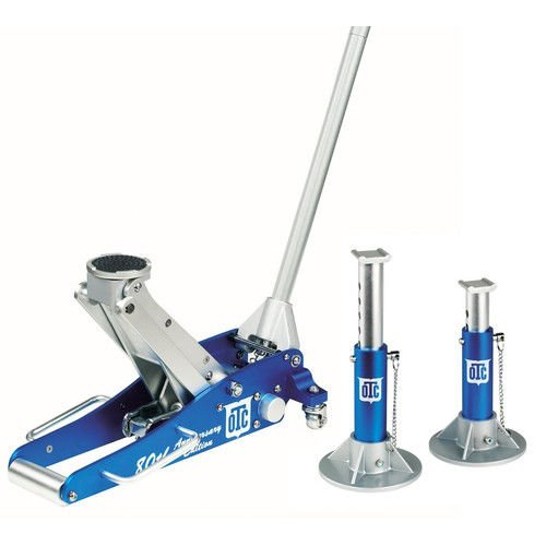 OTC 1533 Aluminum Racing Jack Kit with 2-Ton  Jack and Stands, 80th Anniversary Edition