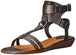 Ariat Women's Oro Gladiator Sandal, Tawny, 6 M US