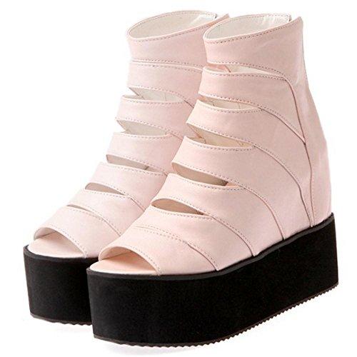 Femmes Sandales 26 Pink Augmentation Taoffen T7nxqO74