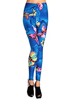 Butterfly Aqua Yoga Tights Short Running Pants Workout