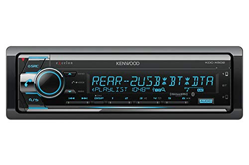 Kenwood eXcelon KDC-X502 CD Receiver with Bluetooth (Kenwood Cd Player Remote)