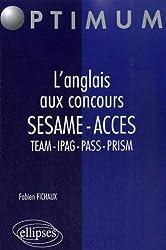 L'anglais aux concours SESAME-ACCES-TEAM-IPAG-PASS-PRISM