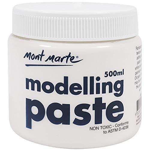 - Mont Marte Modelling Paste Acrylic Medium 500ml (17oz)