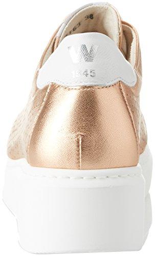 Melluso Damen Donna-walk Techno Sneaker Rosa (salmone)