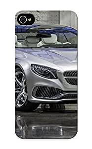 New 2013 Mercedes Benz Sclass Coupe Concept Tpu Case Cover, Anti-scratch Runandjump Phone Case For Iphone 5/5s