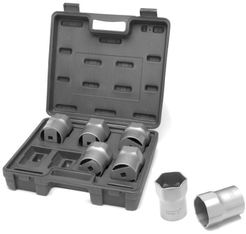 Performance Tool W89314 1/2-Inch Drive Wheel Bearing Lock Nut Socket Set, (Front Wheel Bearing Locknut Wrench)