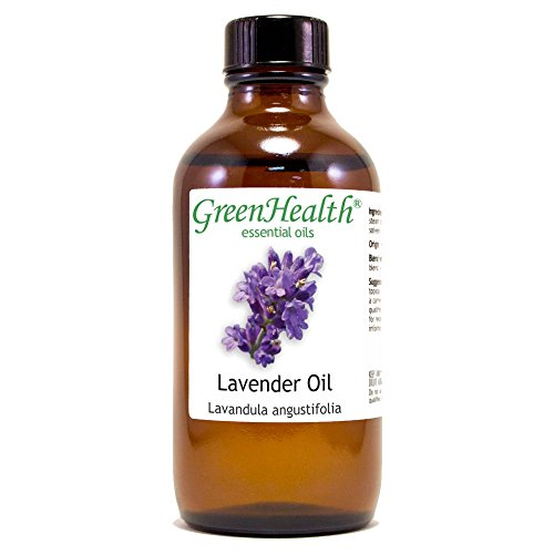 4 fl oz Green Health Lavender Essential Oil Pure & Natural w