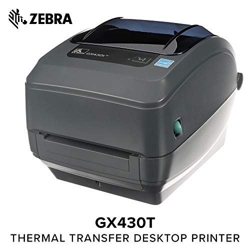 Zebra - GX430t Thermal Transfer Desktop Printer for for sale  Delivered anywhere in USA