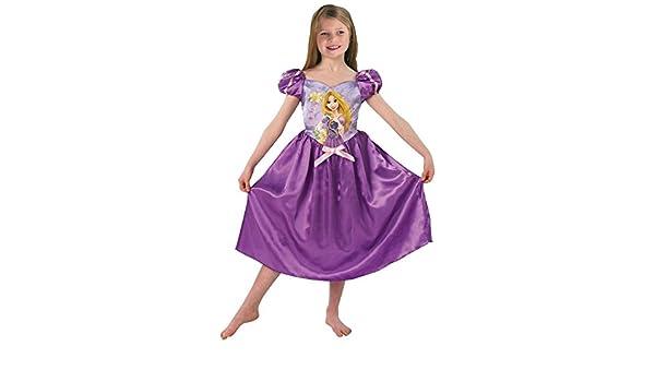 Rubies Disfraz Rapunzel?con peluca niña - De 7 a 8 años: Amazon.es: Juguetes y juegos