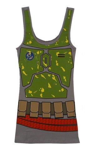 Star Wars I Am Boba Fett Costume Tank Dress | M (M&m Tank Costume)