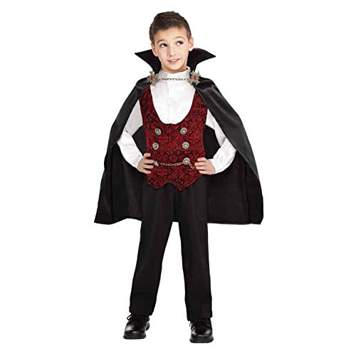 kantann Vampire Costume for Boys Toddler Halloween Costume 4-6T -