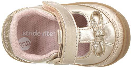 Stride Rite Girls' SR-Caroline Sneaker, Rose, 5 M US Toddler by Stride Rite (Image #7)