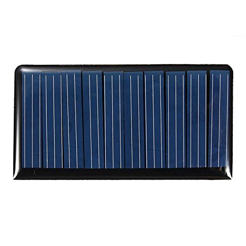 Mising 68373mm 5V 0.3W 60mA DIY Mini Solar Epoxy Resin Plate Solar Cell Battery Solar Panel Power Charger Led Solar Light Lamp