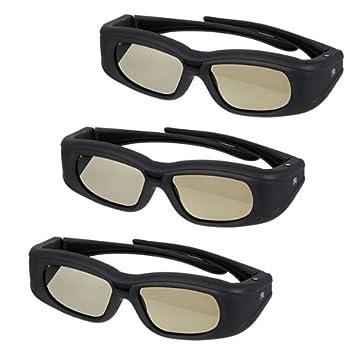 3X 3D gafas para proyectores EPSON EH-TW6000 EH-TW6500 EH-TW8000 ...