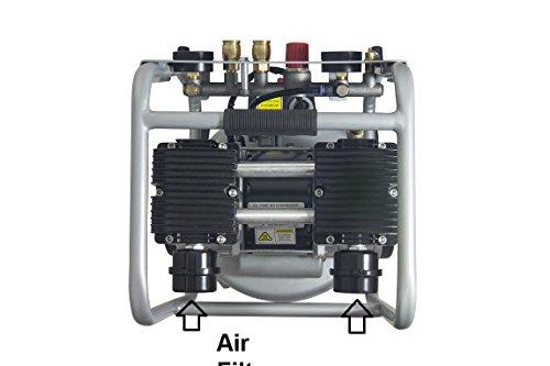 California Air Tools 10020C-22060 Ultra Quiet, Oil-Free andPowerful 2 Hp Air Compressor