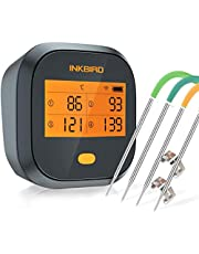 Inkbird IBT-6X Barbecue-thermometer, digitale bluetooth-rooker, draadloze grillthermometer