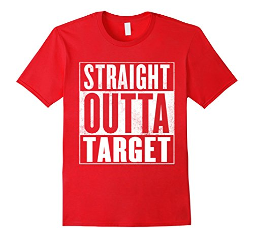 Men's Funny Target T-Shirt - STRAIGHT OUTTA TARGET Shirt XL - Target For Men