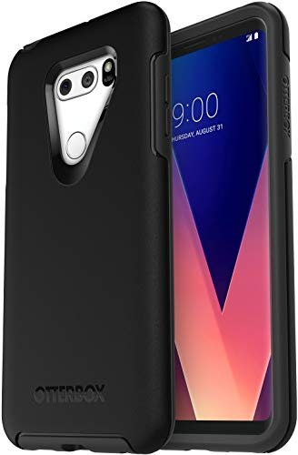 OtterBox SYMMETRY SERIES Slim Case for LG V30 & LG V30 PLUS - Non-Retail Packaging - BLACK