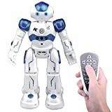 Remote Control Rc Robot Toy Gift, Kuman Smart Robotics Kits Walking Sing Dancing Programmable and Gesture Sensing