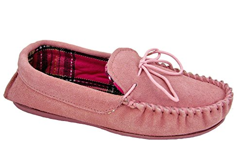 Lodgemok , Chaussons pour femme rose rose