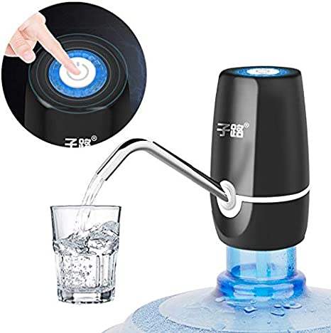 Water Pumps Household Automatic Water Dispenser Bottled Water Manual Water Press Intelligent Portable Water Dispenser USB Cable Color : 2